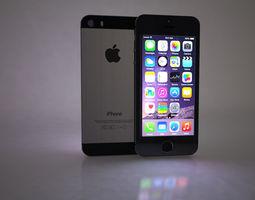 3D Apple IPhone SE