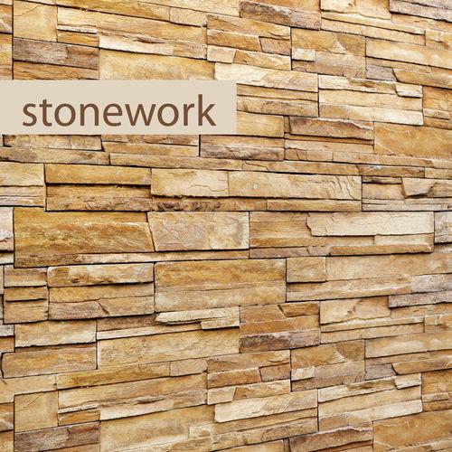 stone wall slate 3d model max obj fbx mtl 1