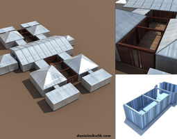Event Tents v2 Customizable arena 3D