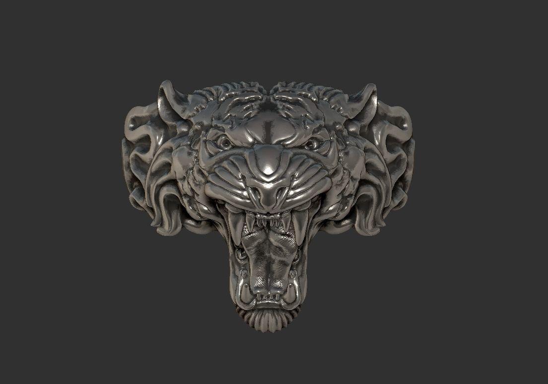 Jewelry Tiger ring