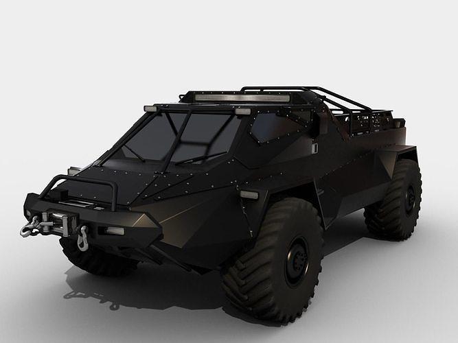 RIPSAW wheeled version