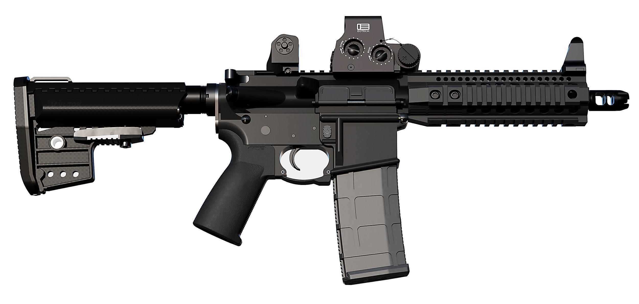 M4 M16 Selective Fire Short Barreled Rifle