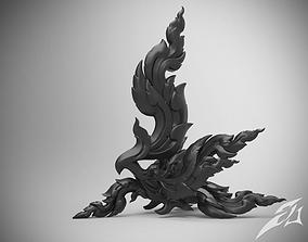 Kinnaree - Thai Art Sculpture 3D print model