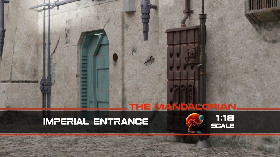 The Mandalorian - The Imperial Entrance 1-18 scale