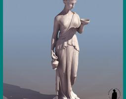 HEBE GREEK ROMAN GODDES 3D Model