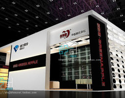exhibition booth 86 3d