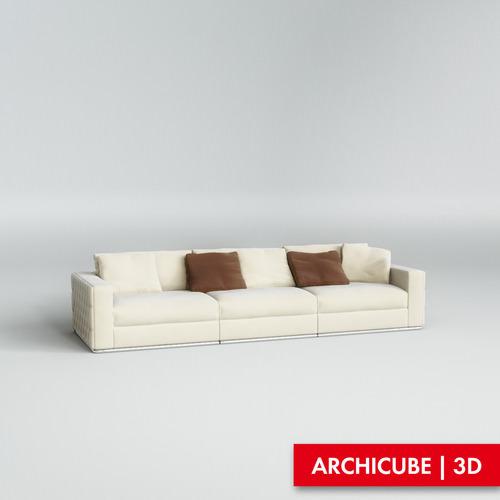 Fendi Sofa3D model