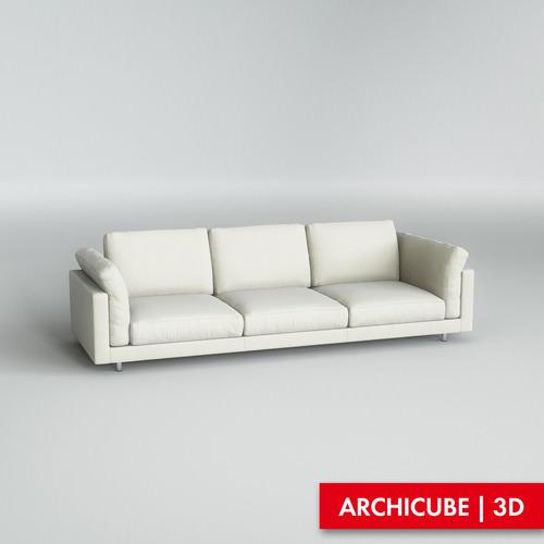 Modern sofa3D model