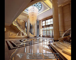 architectular 3D Detailed Architectural Interior