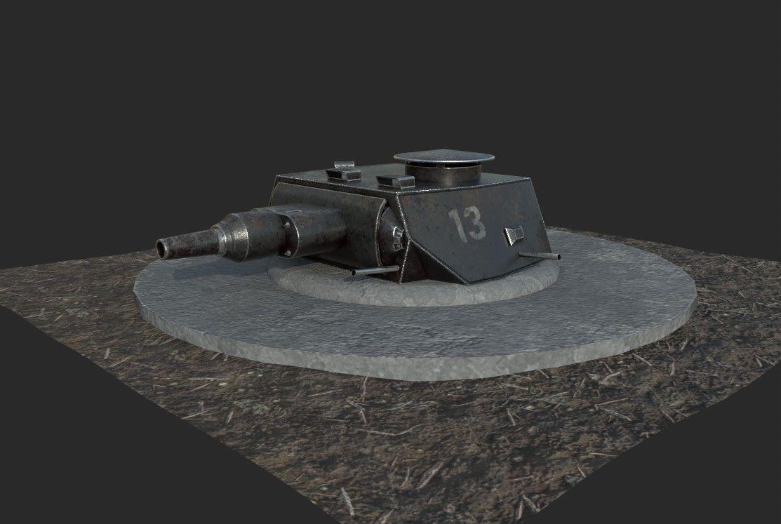 Panzerstellung Turret