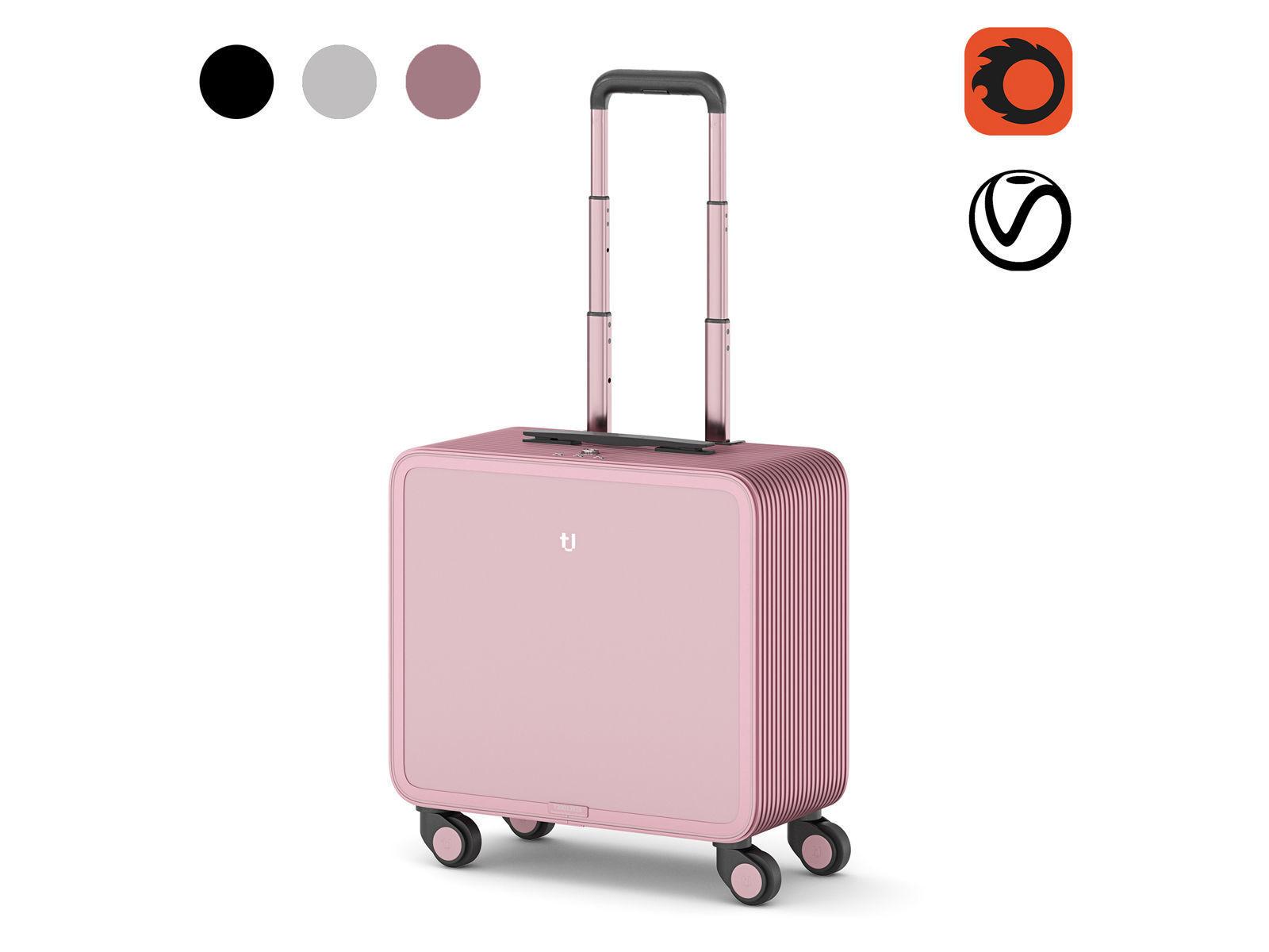 TUPLUS S2 Aluminum Hard Case Carry-On Luggage