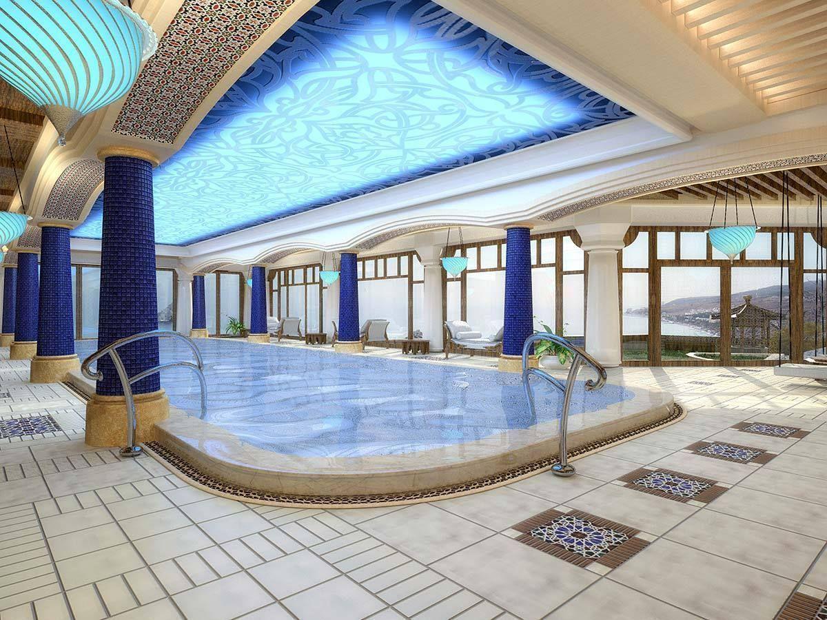 Swimming Pool Interior 2 | 3D model