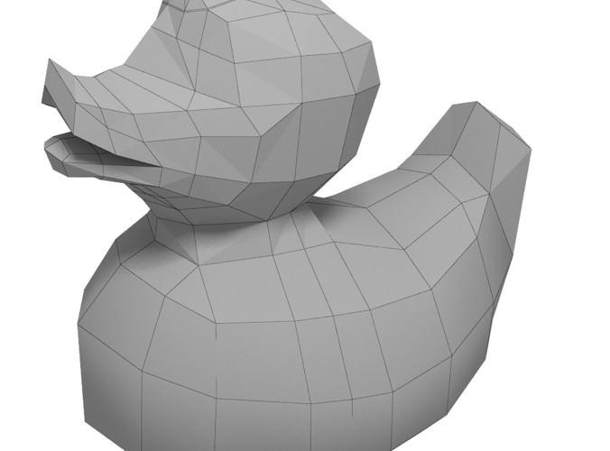 Rubber duck3D model
