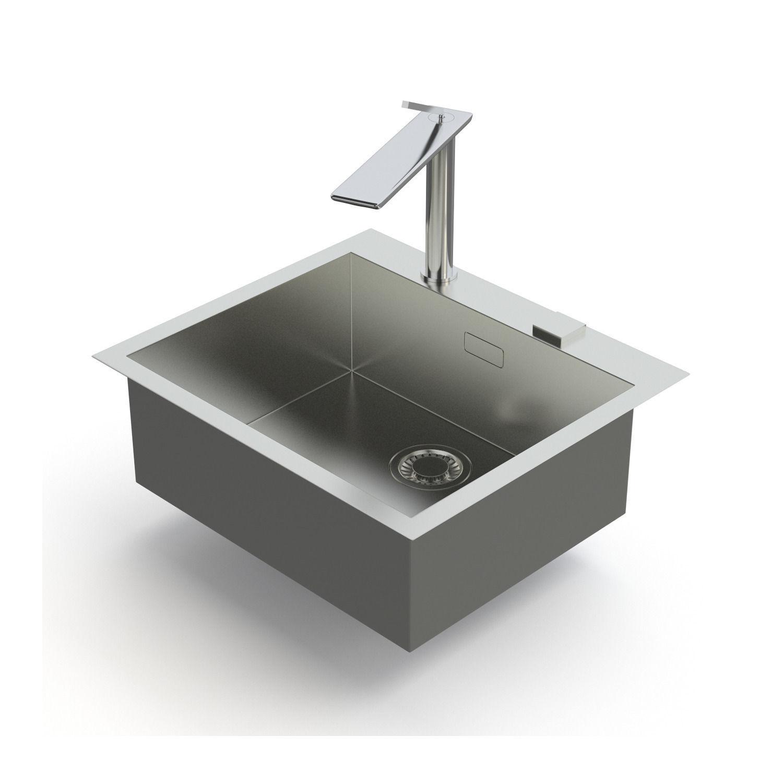 Genial Franke Sink And Tap Planar And D Flux 3d Model Max Obj Mtl Fbx 1 ...