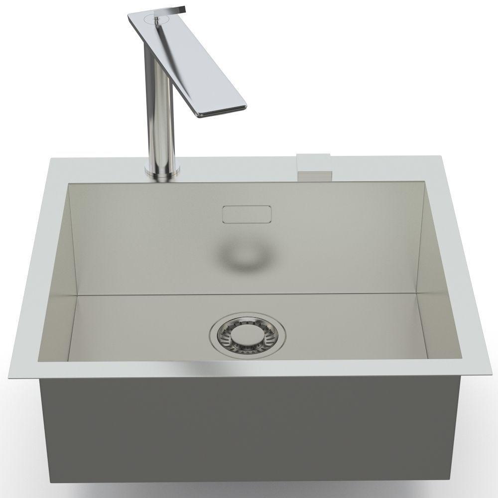 ... Franke Sink And Tap Planar And D Flux 3d Model Max Obj Fbx Mtl 3 ...