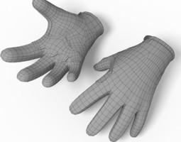 Glove Troy Lee 3D model