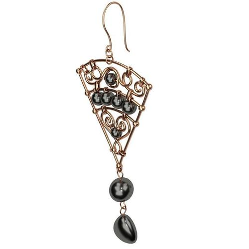 earrings 3d model obj 3ds fbx stl blend dae 1