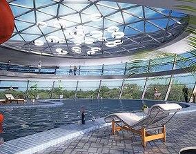 3D model Swimming Pool Interior