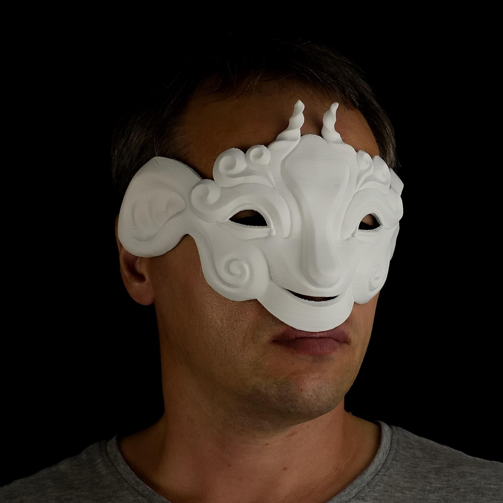 Mask 3D Printing   CGTrader