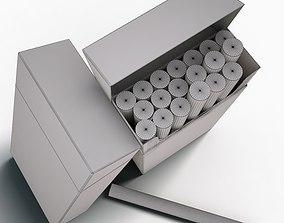 3D model Marlboro red limited cigarette pack