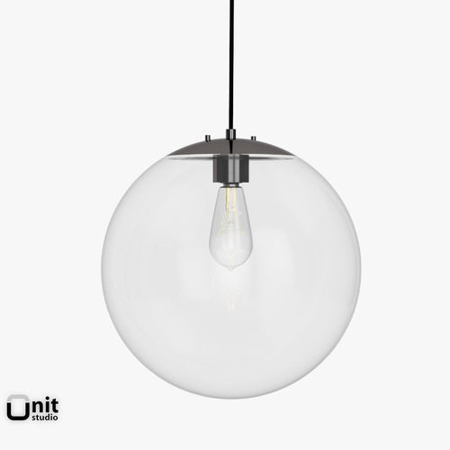 Globe Pendant Lamp By West Elm Model Max Obj Mtl S Fbx 3