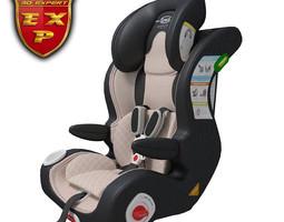 car seat baby 3d