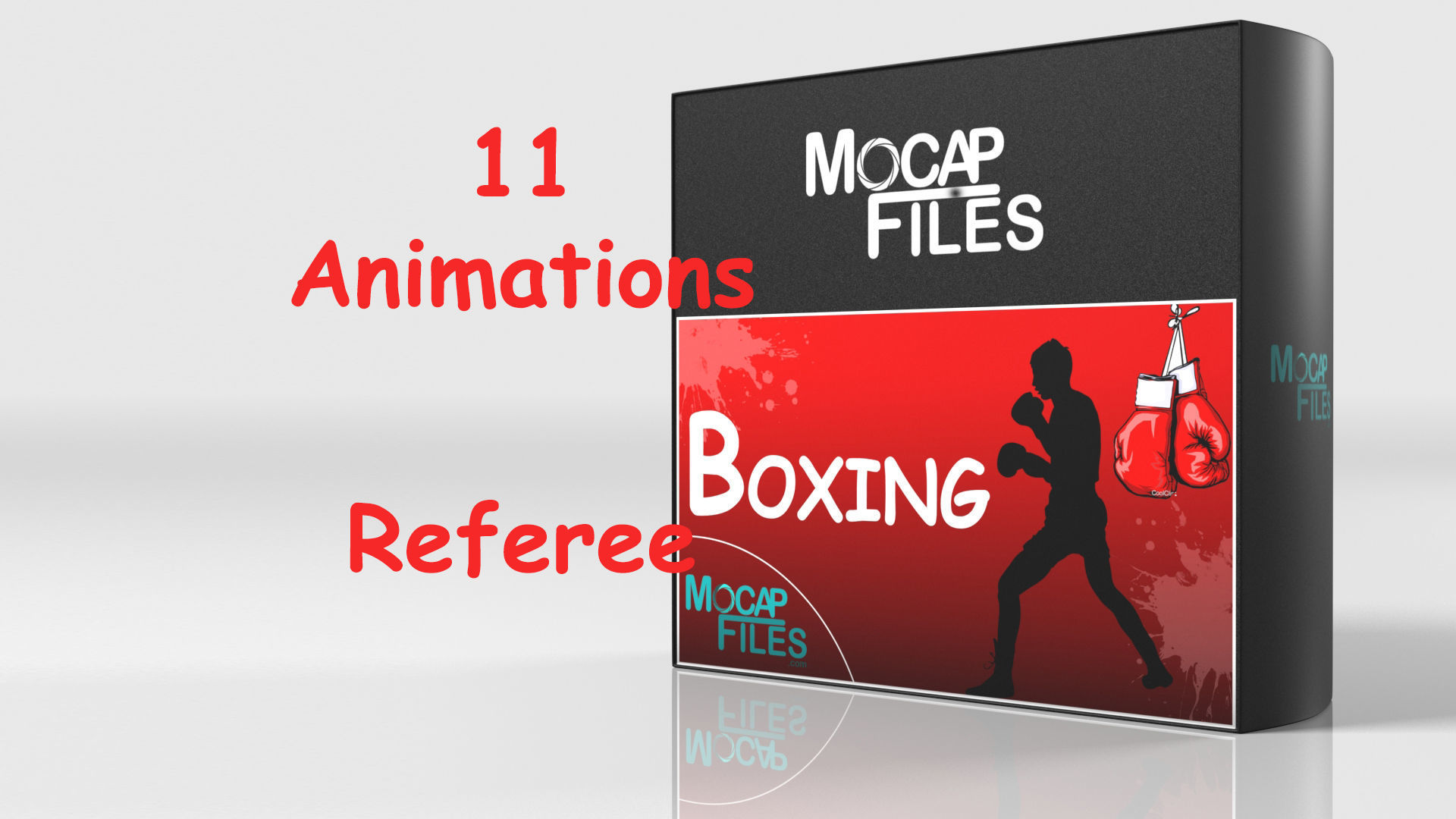 Boxing - Referee- motion capture animations- Bundle