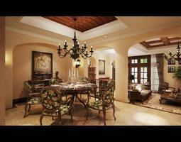 living room 3d