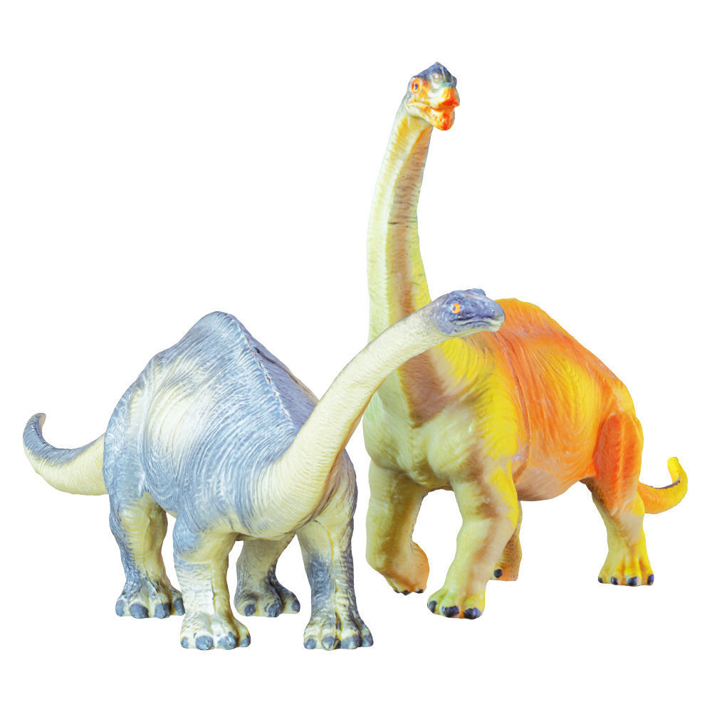 Two Toys Dinosaurs Brachiosaurus and Diplodocus