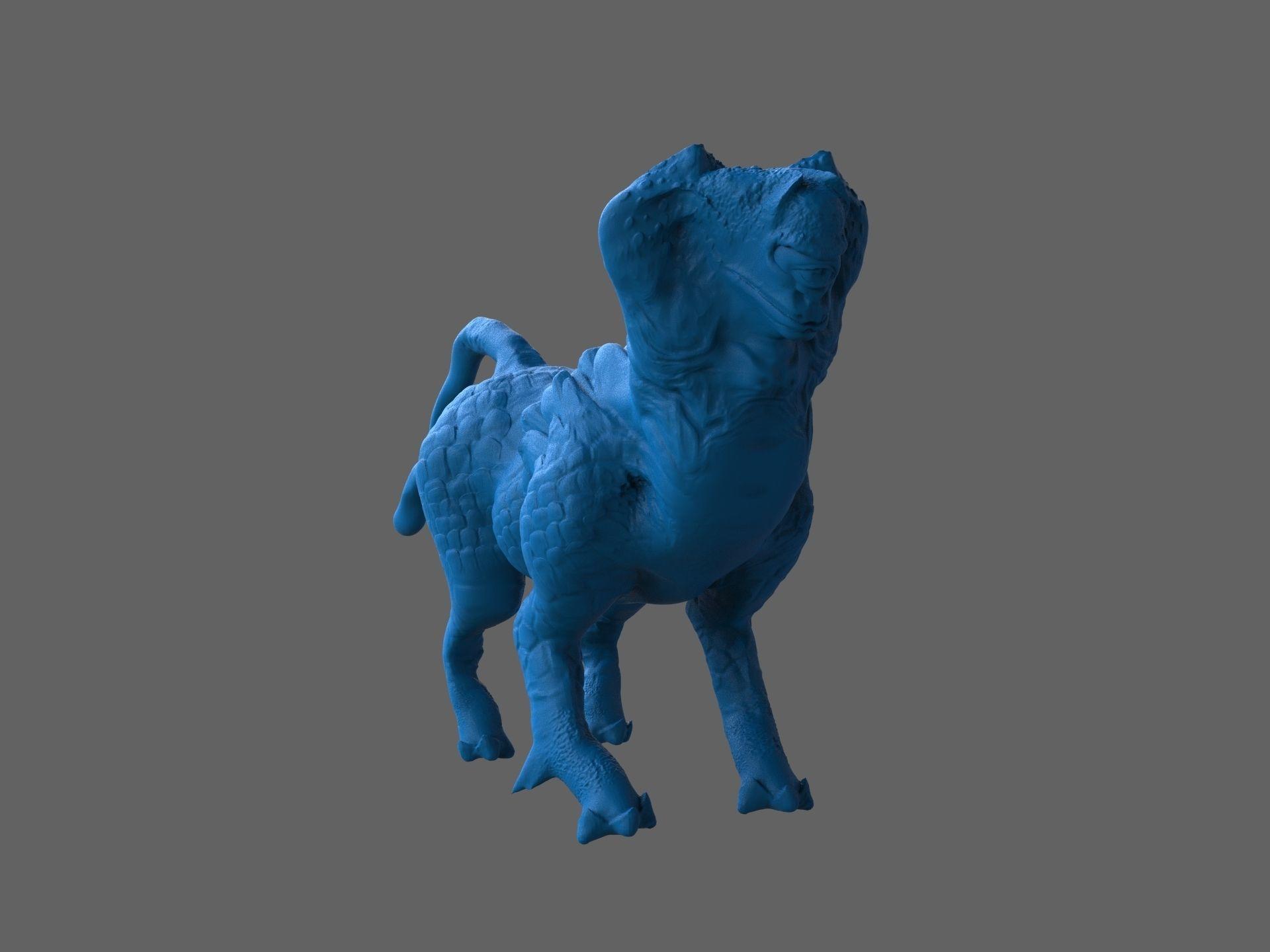 Sphinx creature cyclop