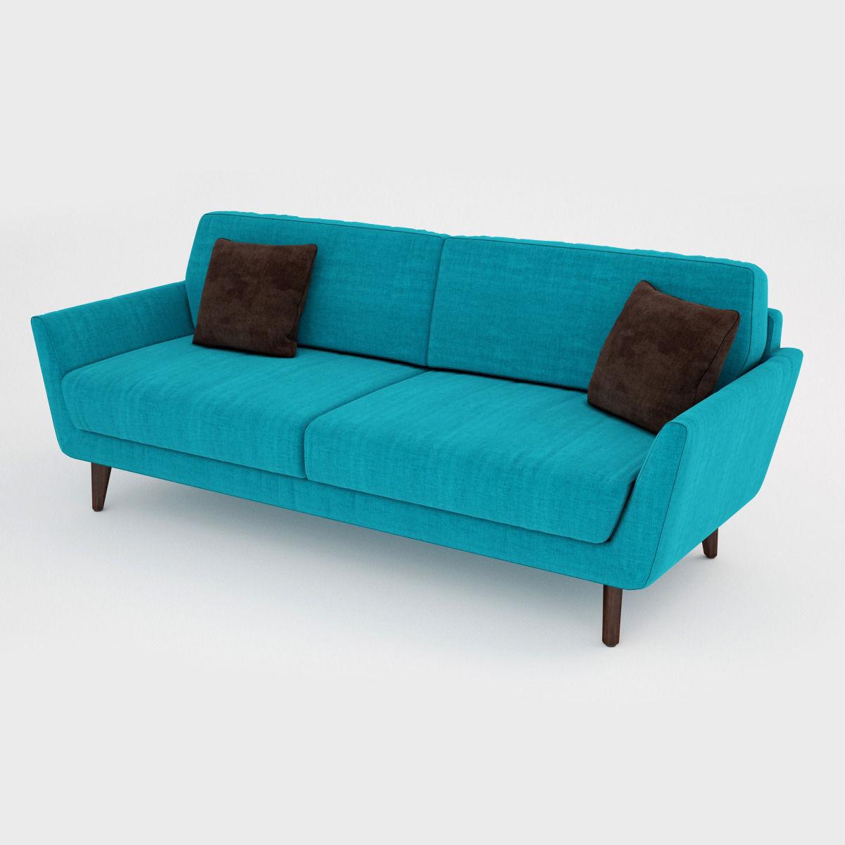 ... Sits Rucola Sofa Collection 3d Model Max Obj Fbx Mtl 2 ...
