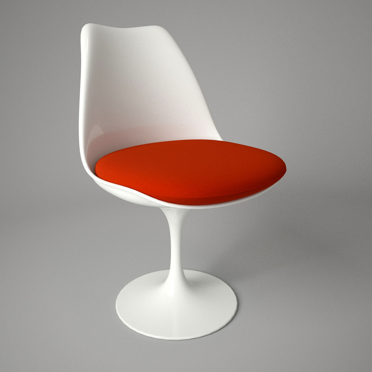 Charmant ... Tulip Chair And Armchair 3d Model Max Obj Fbx 3 ...