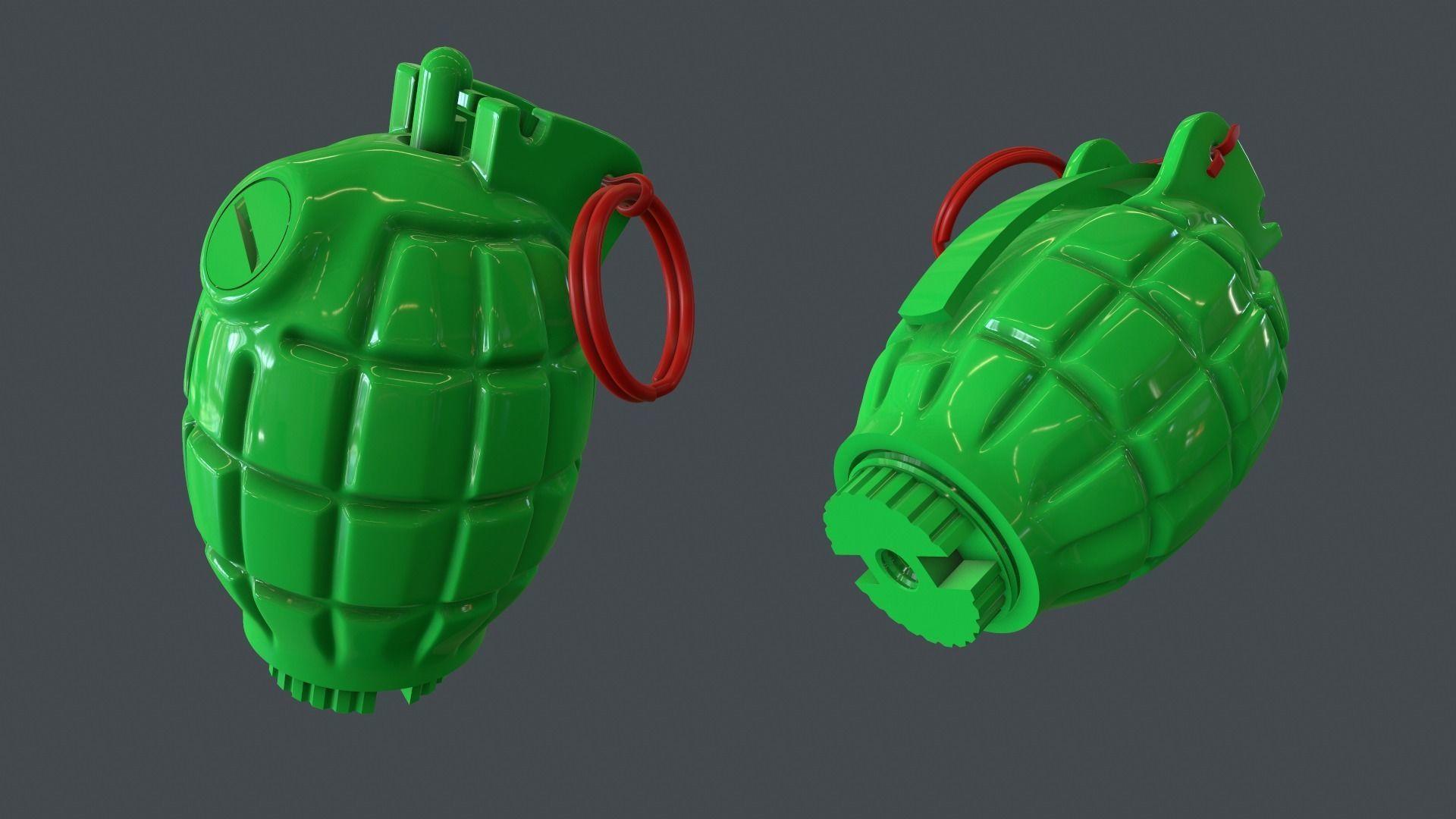 Mills bomb No 36M grenade