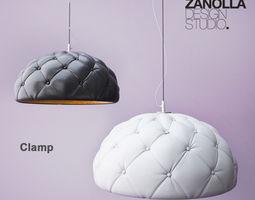 3D model Enrico Zanolla Clamp Lamp