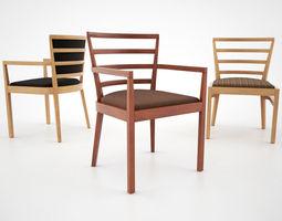 Knoll de Armas Chair Collection 3D Model