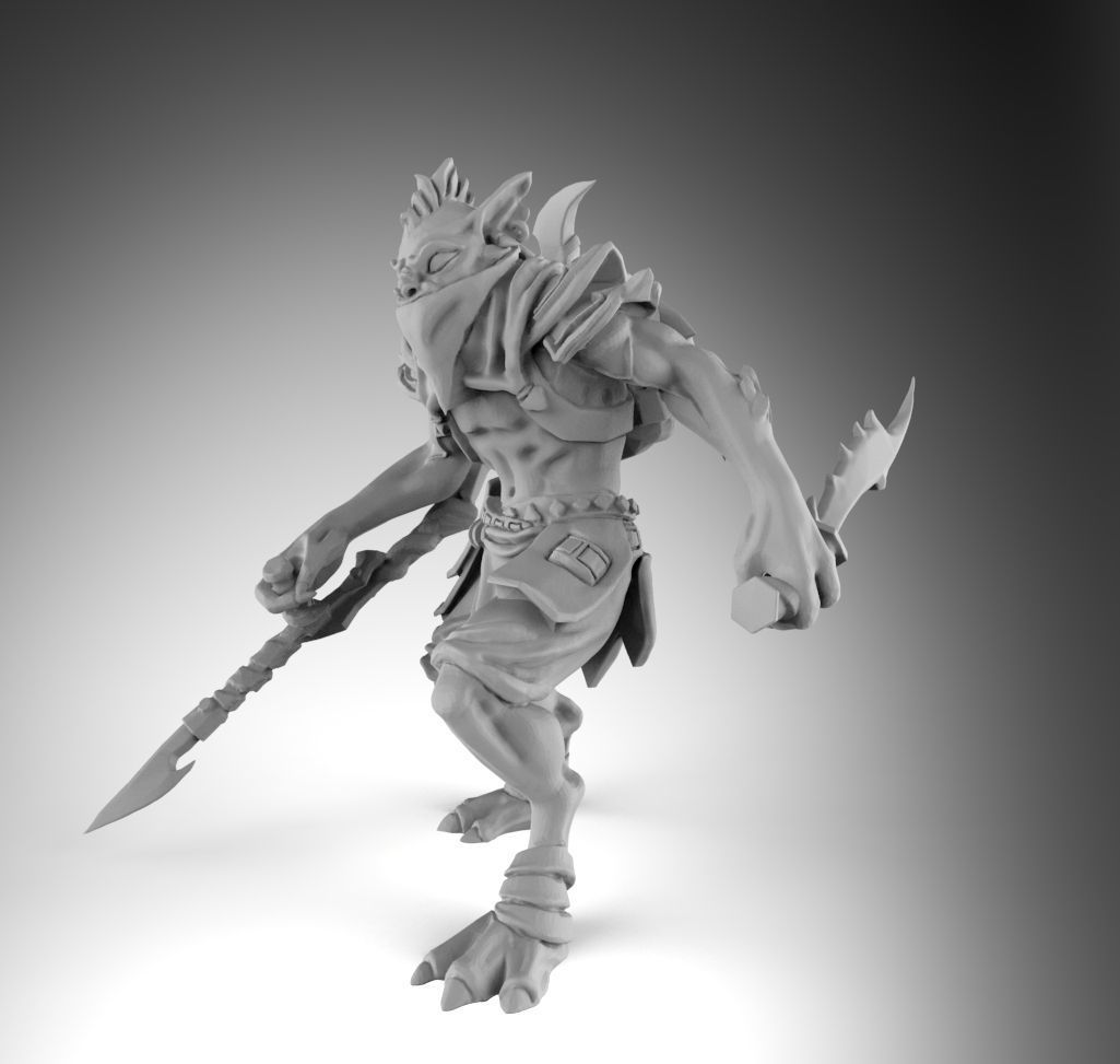 dota 2 bounty hunter 3d print model cgtrader