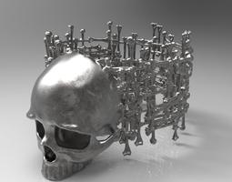 Ring Bones 3D print model