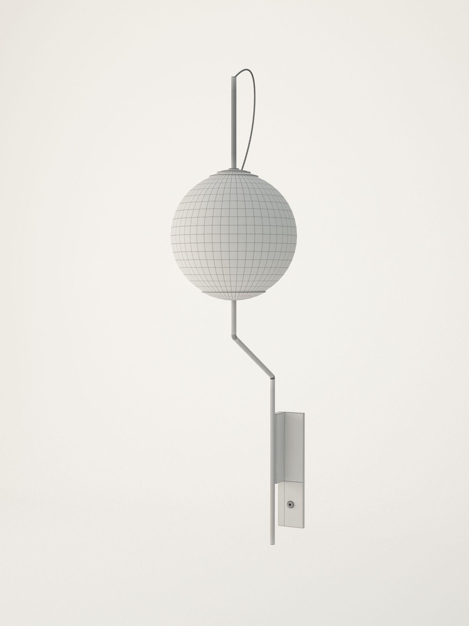 Wall Lamps 3d Model : Brass Wall Lamp 3D Model OBJ 3DS FBX C4D CGTrader.com
