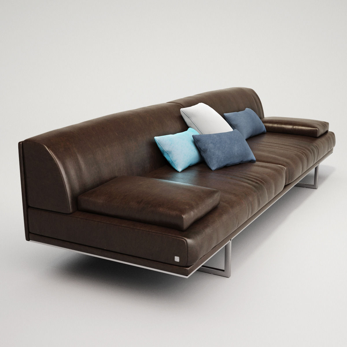 Busnelli blumun sofa collection 3d model max obj fbx for Sofa 3d model