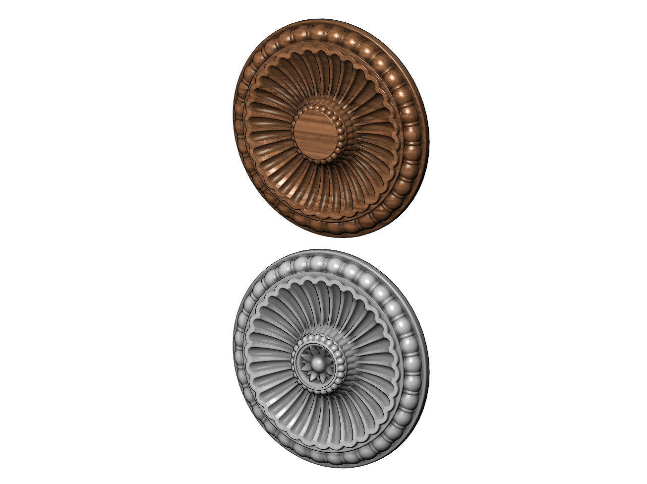 Classical ceiling medallion and Rosette