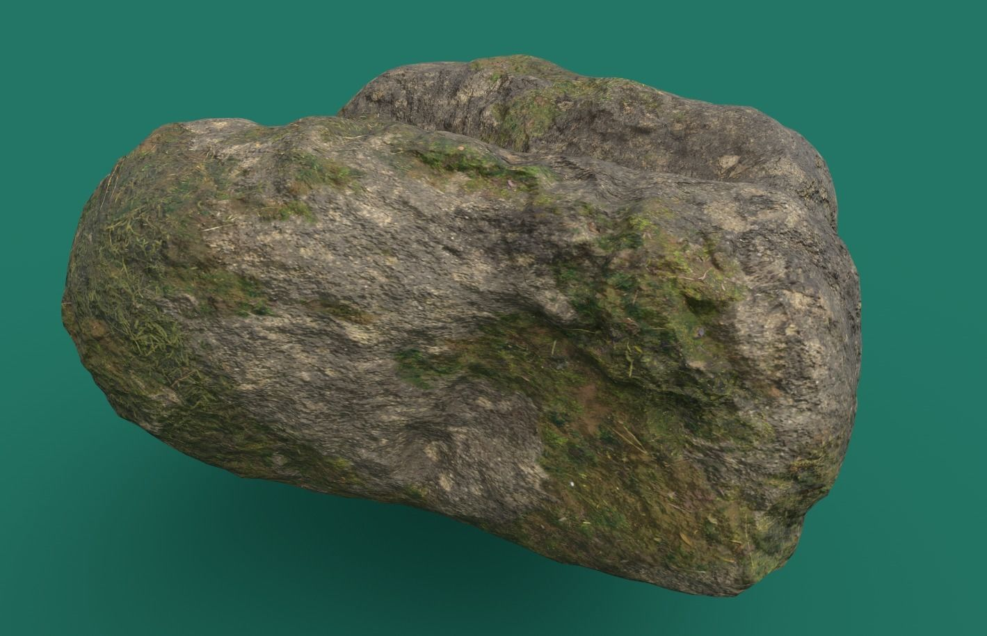 Mossy Rock 3 PBR