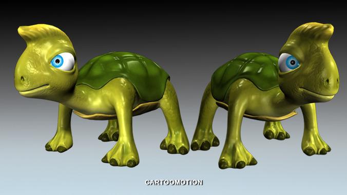 FOO The Turtle3D model