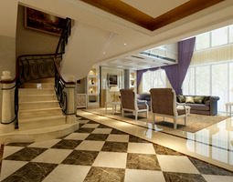 3d model living room
