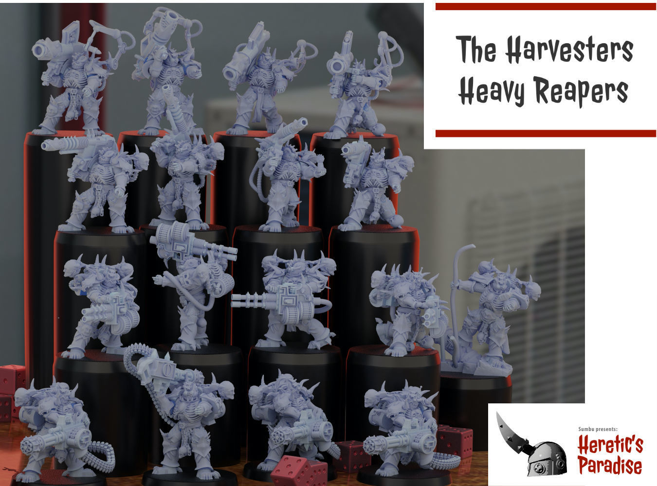 The Harvesters - Heavy Reapers