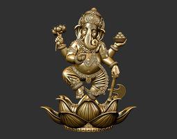 Ganesha male 3D printable model