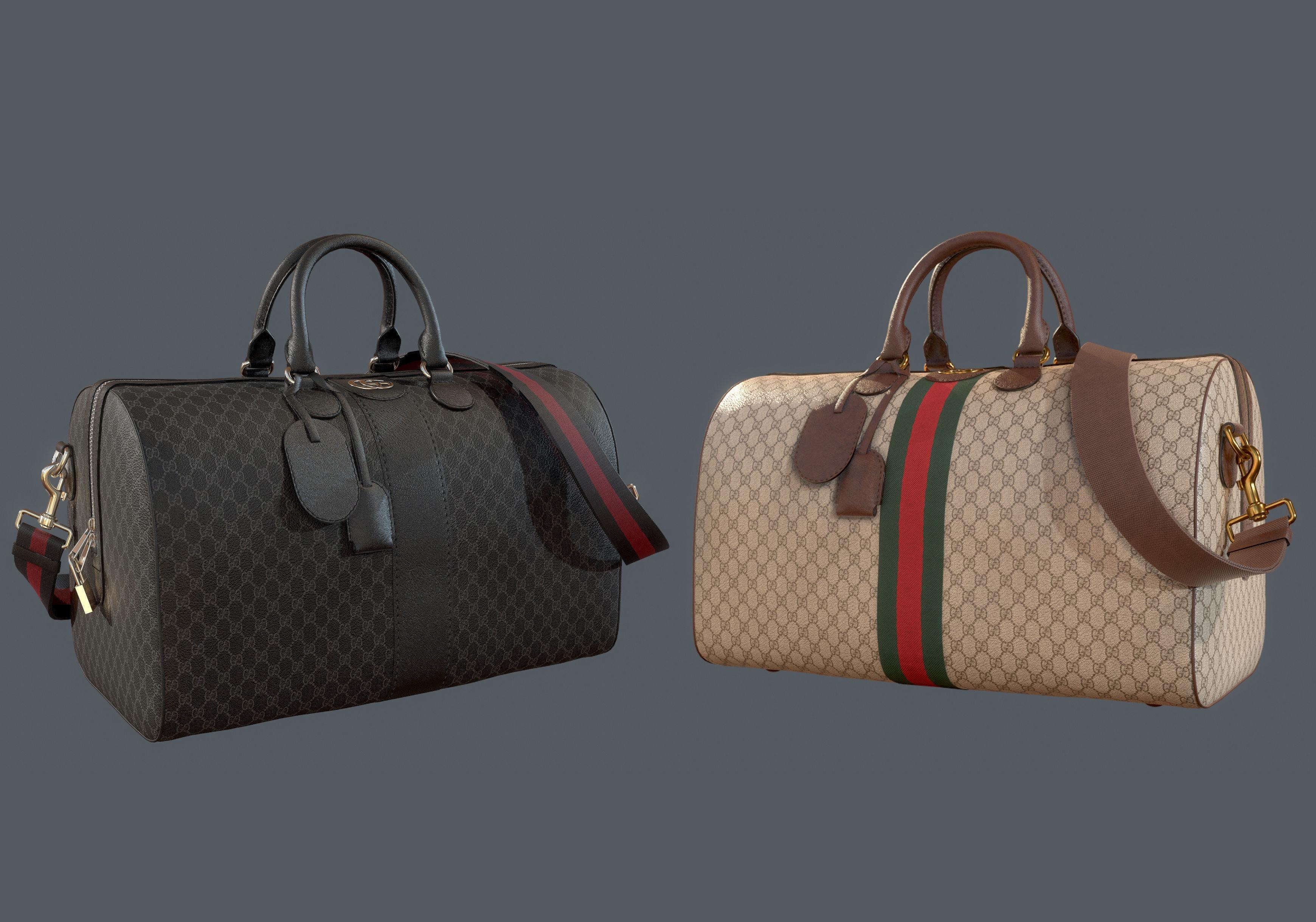 Gucci Ophidia GG medium travel duffle bag