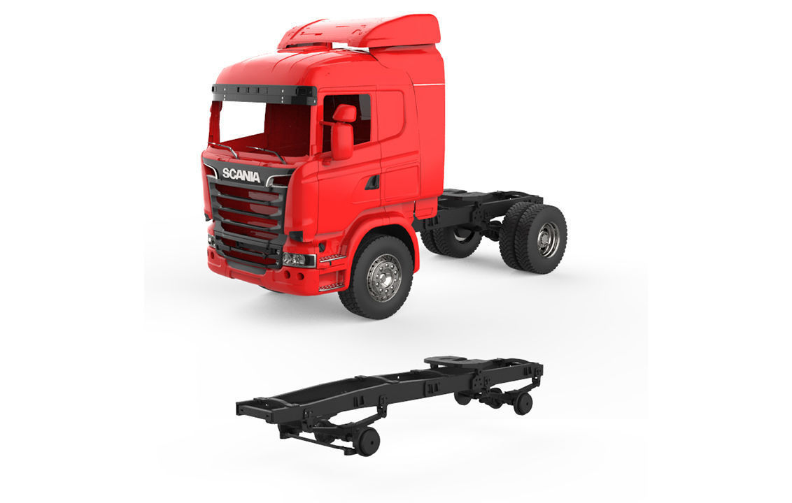 Chassis Scania R730 V8