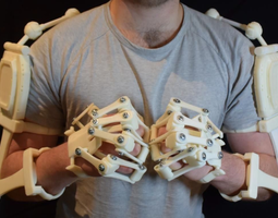 3D Printed Exoskeleton Arms