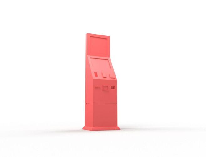 vending machine 3d model obj mtl stl 1
