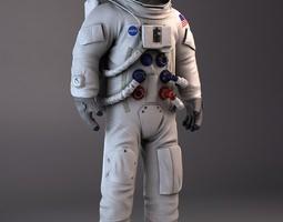 NASA Astronaut Apollo 3D Model